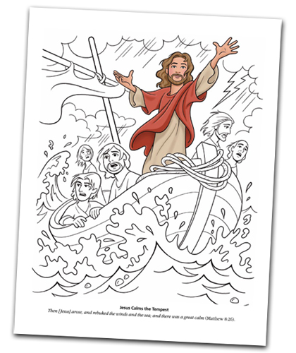 A Year of FHE: Year 01/Lesson 12: Jesus Calms the Sea