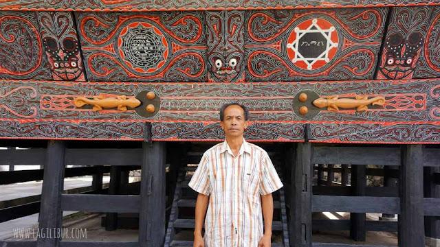 Pak Markoni, Guide Istana Sisingamangaraja Humbahas