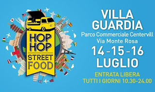 Hop Hop Street Food 14-15-16 luglio Villa Guardia (CO)