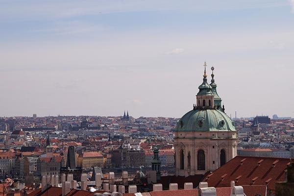 Blick über Prag, Tschechien | Tasteboykott