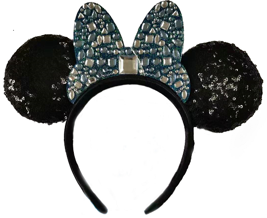 Disneyland Park 65th Anniversary Minnie Ear Jeweled headband  Merchandise Online