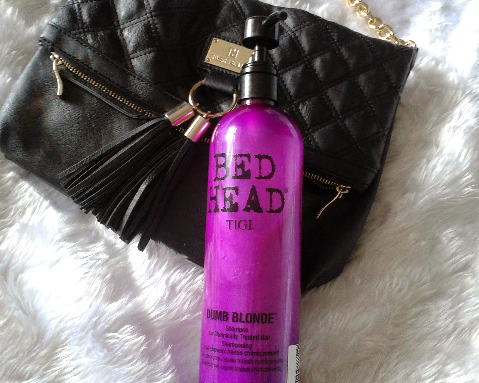 Dumb blonde shampoo and conditioner 14