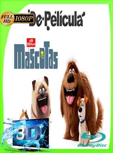 La Vida Secreta de tus Mascotas (2016) Latino Full 3D SBS 1080P [GoogleDrive] dizonHD