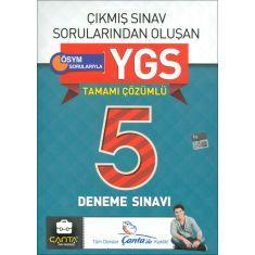 Çanta YGS Çıkmış Sorulardan Tamamı Çözümlü 5 Deneme Sınavı (2016)