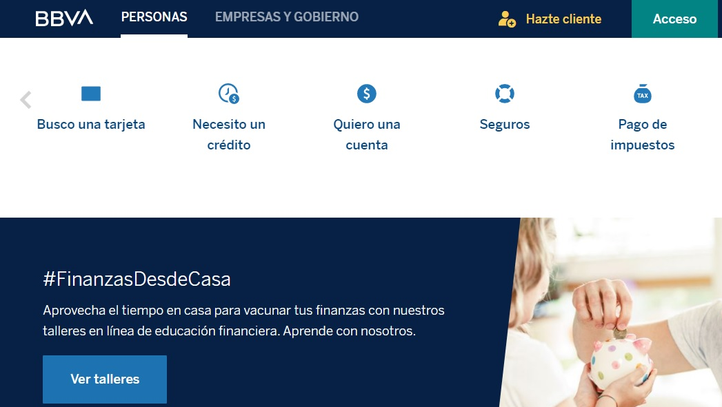 BBVA Bancomer Mexico Sucursales Telefonos Afores Banca en Linea bbva.mx