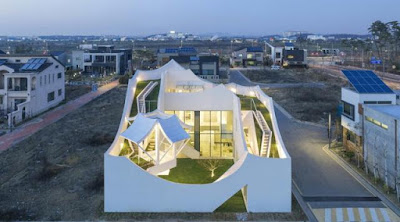 flying house south korea