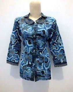 model baju batik guru