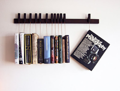 Rak buku unik terbaru