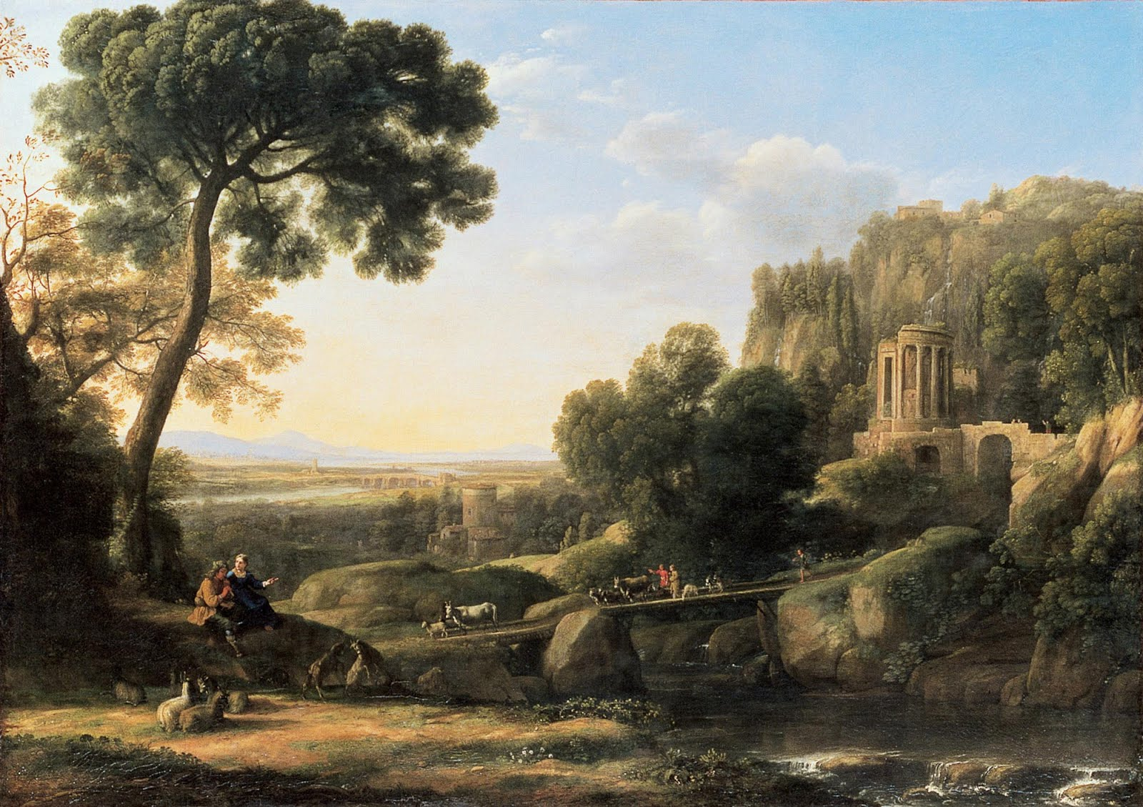 Les Jardins À L Anglaise les carnets de viviane: le lorrain et le jardin anglais