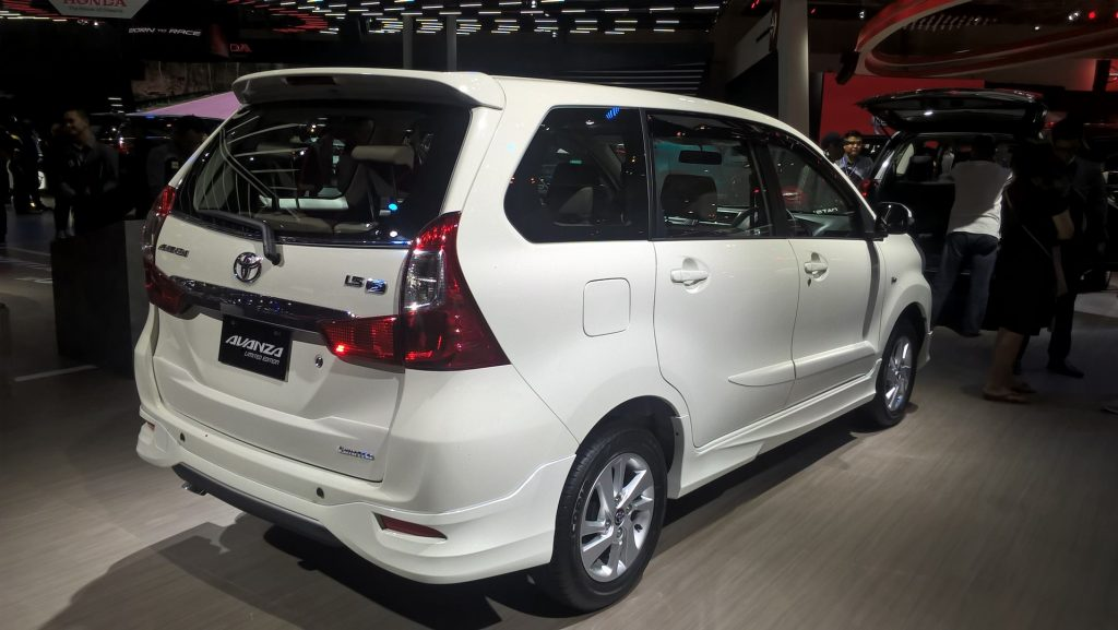 Grand New Avanza 1.5 G Limited Kijang Innova Modifikasi Toyota Edition Ms Blog Based On The Top End 1 5 Mt Has A Sportier Body Kit Comprising Black Plastic Garnish Across Lower Front Lip