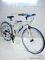 3 Sepeda Hybrid PACIFIC Instantaneous Enaction 1.0 18 Speed Shimano 700C
