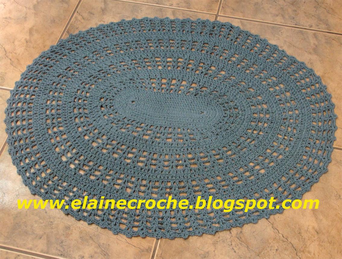Elaine croche tapetes barbante em croch diversos modelos for Clases de tapetes