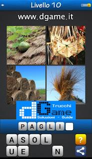 PACCHETTO 6 Soluzioni Trova la Parola - Foto Quiz con Immagini e Parole livello 10