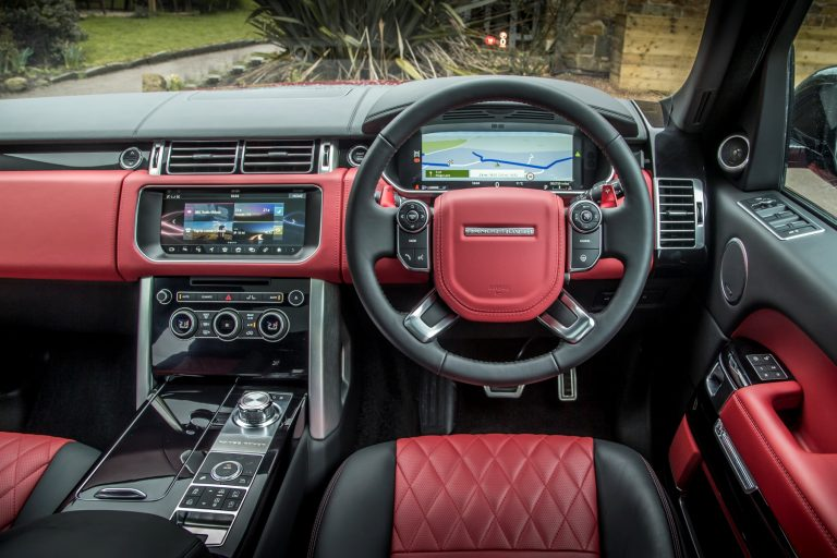 naturally thereu0027s still the commanding driving position combined with a luxurious feel front and back thereu0027s also the latest version of jlru0027s