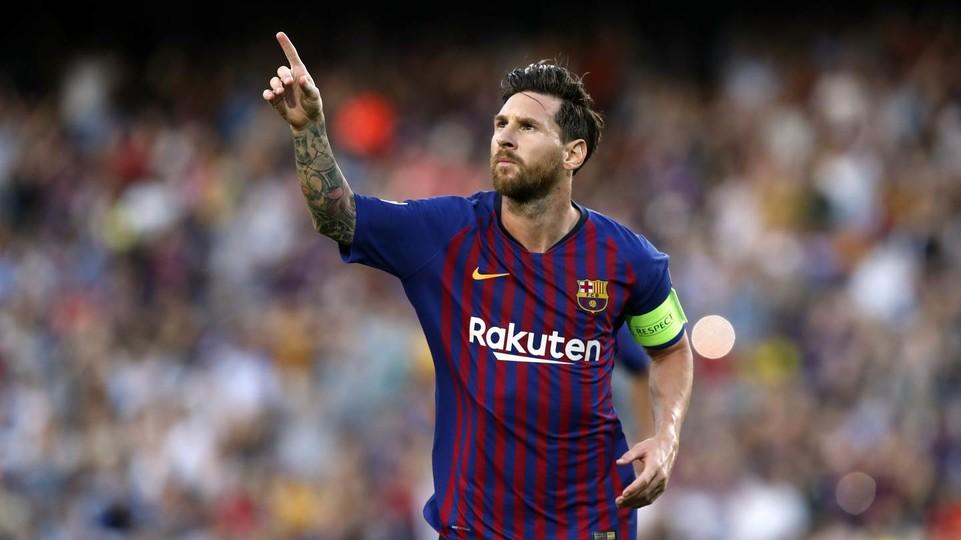 مباراة برشلونة وليفانتي  ميسي 10-01-2019 الكاس