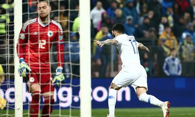 Από την κόλαση στον παράδεισο,Βοσνία - Ελλάδα 2-2