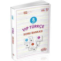 Editör 8.Sınıf Vip Türkçe Soru Bankası