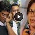 Watch: Ronnie Dayan was slapped by senator De Lima for wearing a Duterte baller