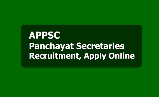 APPSC Panchayat Secretaries