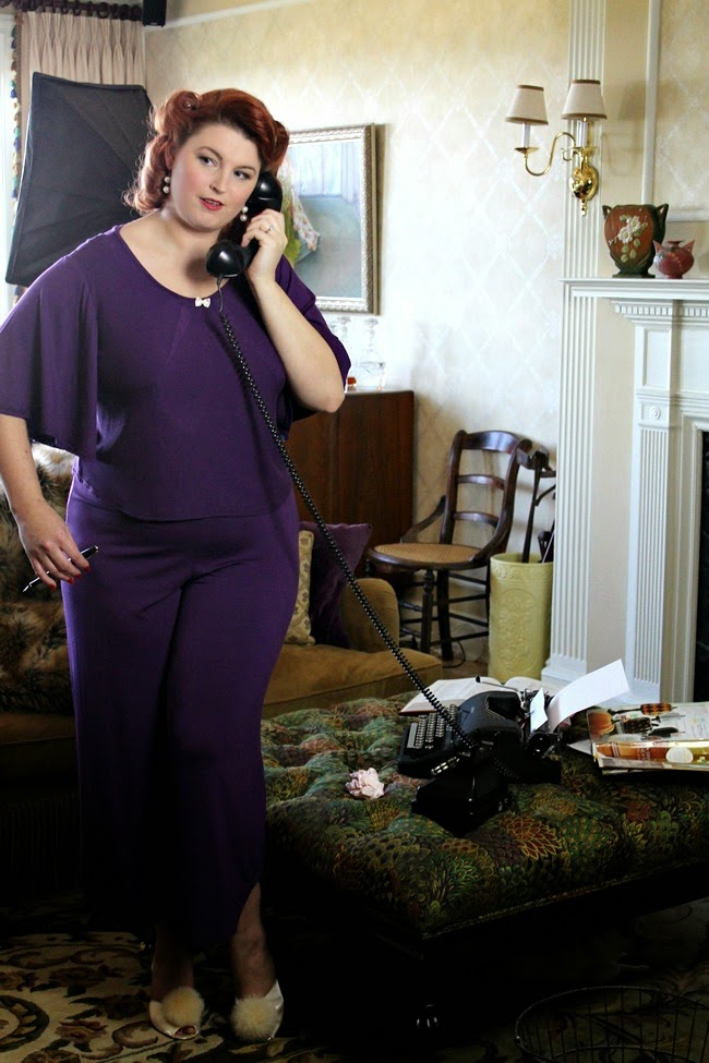 vintage style plus size pajamas and lounge wear from maddy james