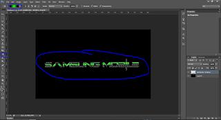 Cara mudah membuat text menyala menggunakan Adobe PhotoShop