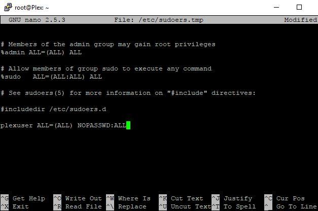 Ubuntu Plex Firewall