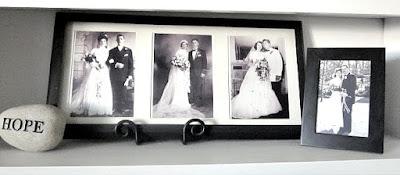 black and white vintage wedding photos