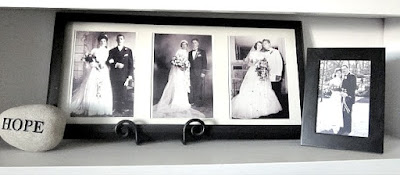 black and white vintage wedding photos
