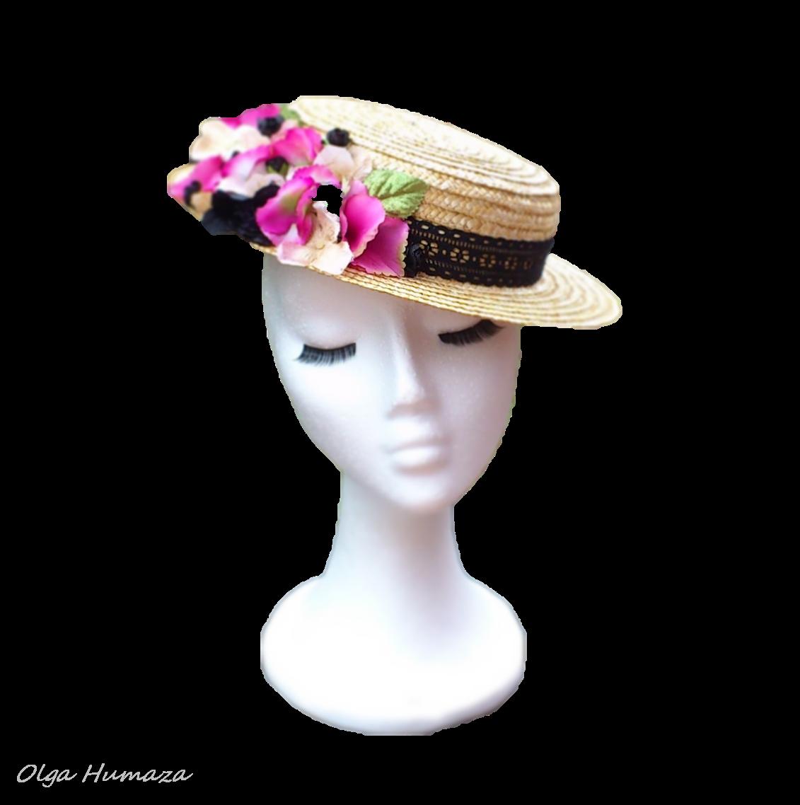 http://olgahumaza.blogspot.com.es/2014/06/b42-tocado-sombrero-copa-alta-chistera.html