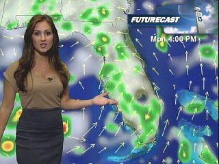 That Blue Yak: A Salute to Sheena Parveen  NBC 10 Weather Girl