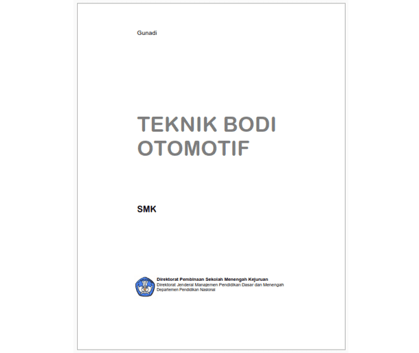 Buku SMK Teknik Bodi Otomotif