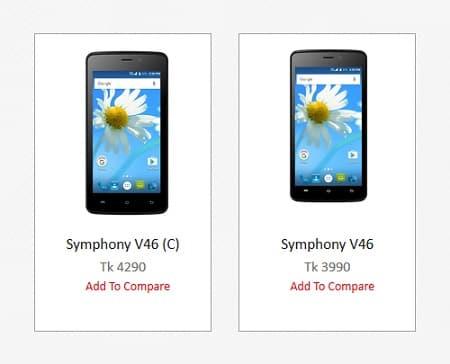 Symphony V46 C Smartphone