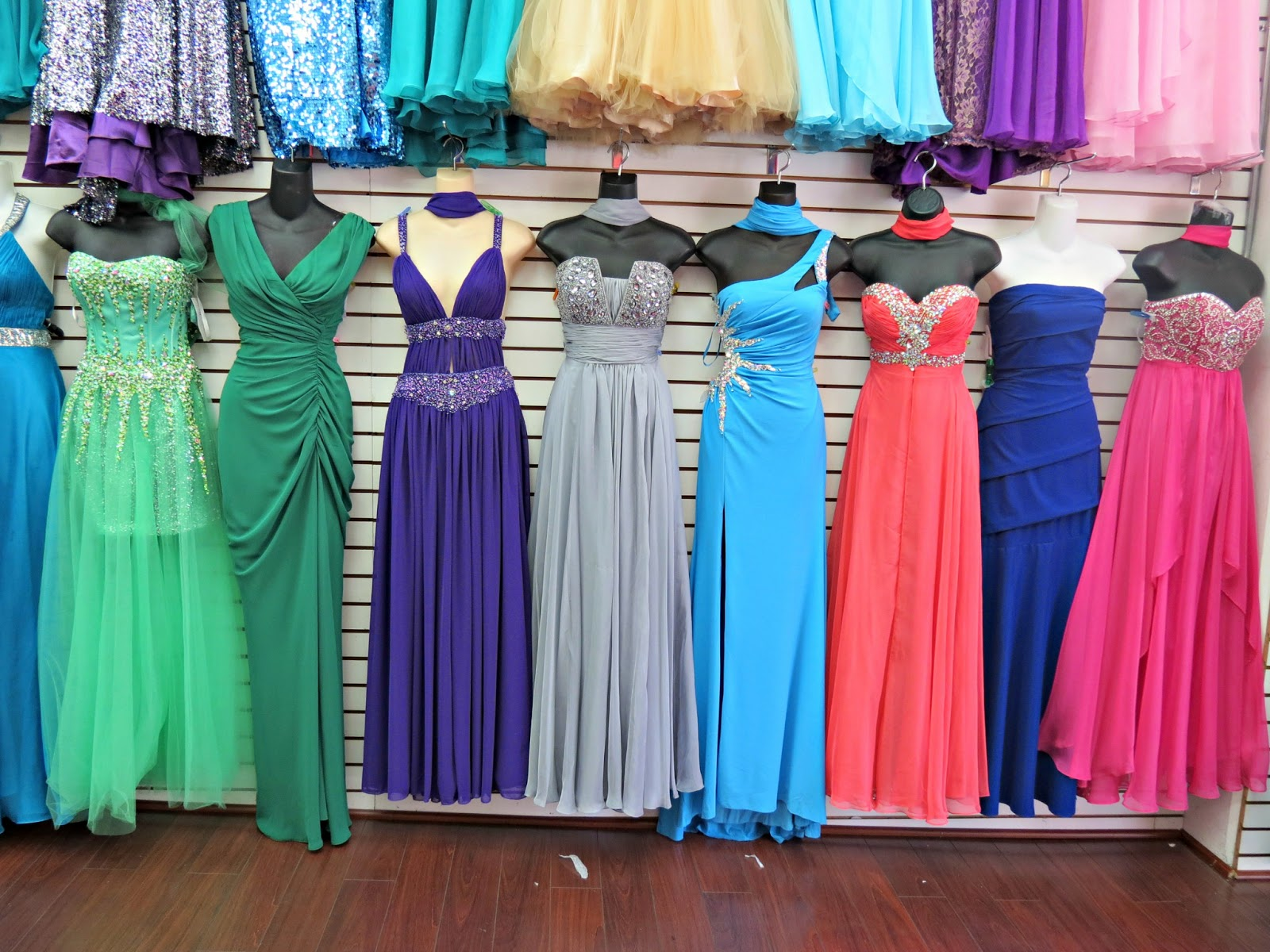 Prom Dresses Los Angeles Fashion District