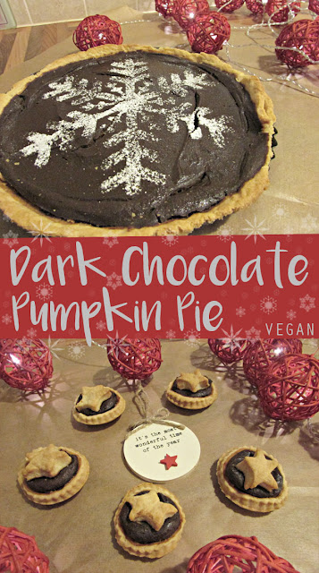 My General Life - Dark Chocolate Pumpkin Pie [VEGAN]