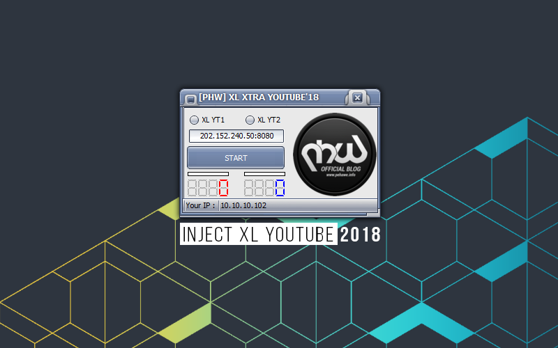 Update Inject XL Youtube Agustus 2018
