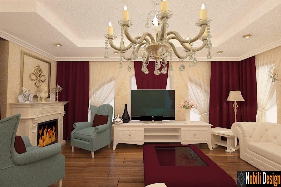 Design interior case stil clasic Bucuresti - Amenajari interioare Bucuresti