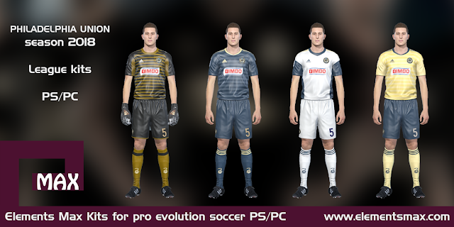 Philadelphia Union PES kits
