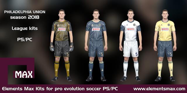 Philadelphia Union PES kits