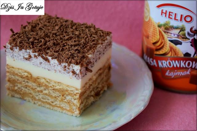 Ciasto Straciatella z Toffi