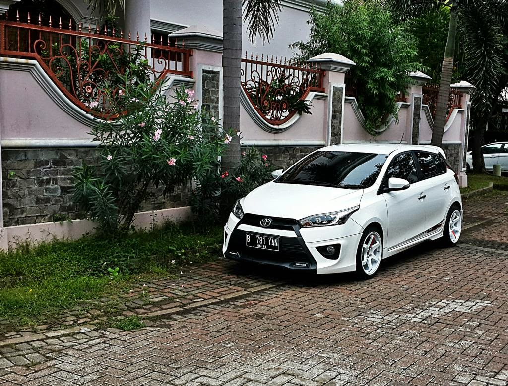 Gambar Modifikasi All New Toyota Yaris Terbaru 2015 Alul Stemaku