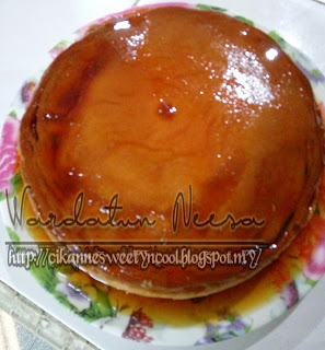 puding karamel simple