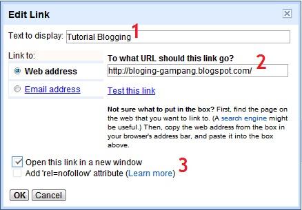Cara Membuat Link di Blog untuk Mengaitkan Antar Halaman dan Postingan