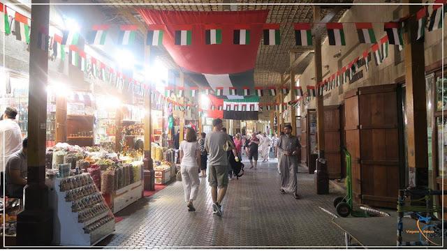 Spice Souk, o Mercado de Especiarias de  Dubai