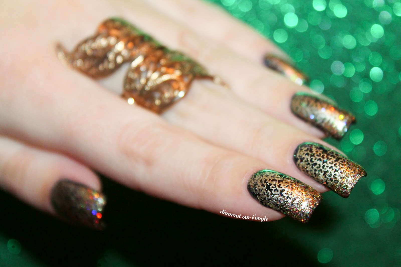 Saint-Patrick's Day Nail Art