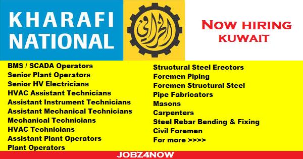 Kharafi National Kuwait Large Job Vacancies