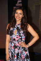 Kyra Dutta in a Deep neck Small Dress at Shamanthakamani pre release function ~  Exclusive 114.JPG