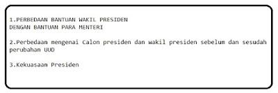 Bedanya bantuan wakil presiden dan para menteri