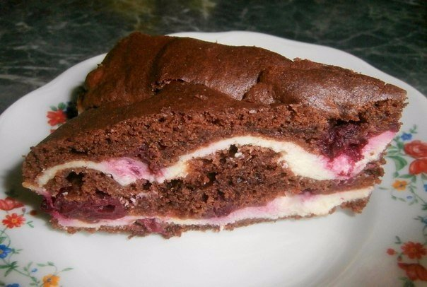 Торт брауни рецепт фото с творогом