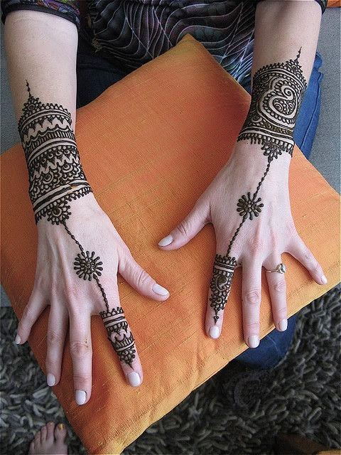 Elegant Henna Designs: Simple And Elegant Henna Tattoo Designs For Hands