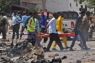 Six people killed in suicide attack in central Somalia